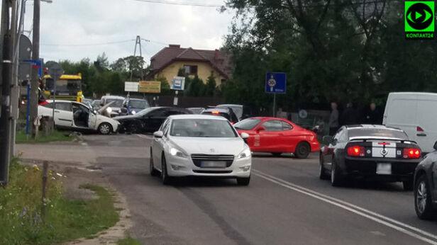 Wypadek na Białołęce Kasia, Kontakt 24