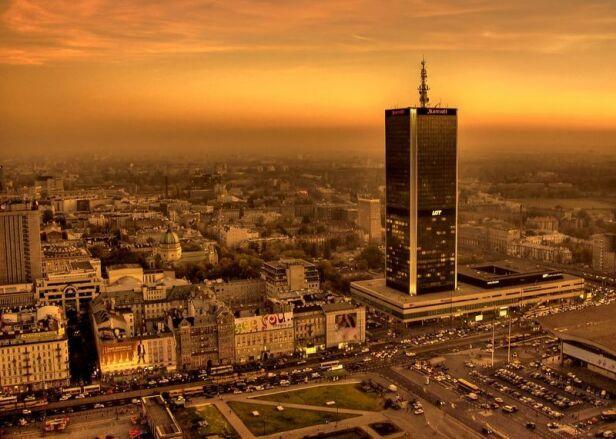 Panorama stolicy Stanisław Tokarski / urząd miasta