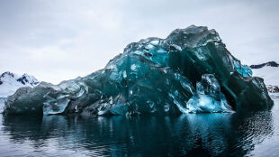 Zachwycająca Antarktyka. Sztormowa pogoda pokazała to, co skrywa zimna woda