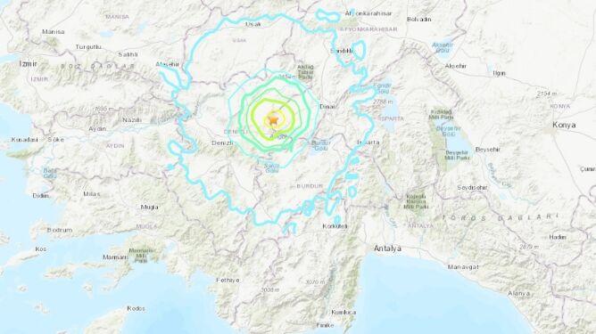 Trzęsienie ziemi w Turcji. Są ranni