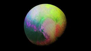 Psychodeliczny Pluton. NASA publikuje niezwykłe zdjęcie