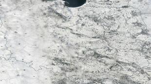 Polska pod białą pierzynką. To nie chmury, tylko śnieg
