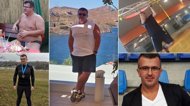 Nadwagę i smutek zamienił na zdrowe ciało i uśmiech. Schudł blisko 50 kg