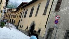 Załamanie pogody we Włoszech (PAP/EPA/FILIPPO VENEZIA)