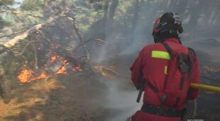 Płoną hiszpańskie lasy