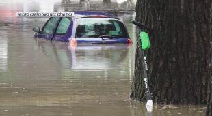 Ulice Poznania i Swarzędza pod wodą