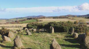 Kamienny krąg z hrabstwa Aberdeenshire